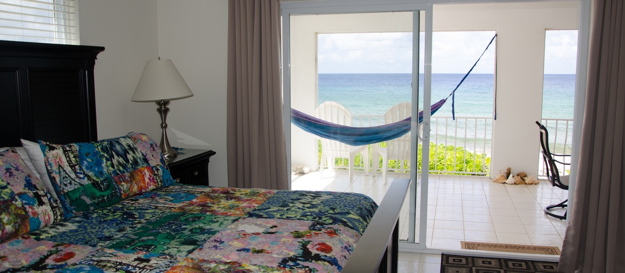 Master Suite with hammocks on veranda..